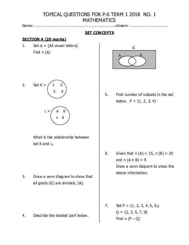 P 6 MATHEMATICS  TOPICAL QUESTIONS FOR TERM 1 .pdf