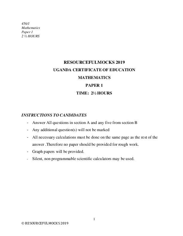 S4 MATHEMATICS P1 UGANDA CERTIFICATE OF EDUCATION.pdf
