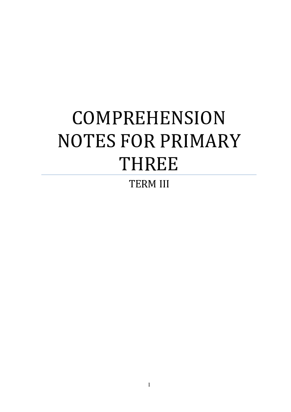 P3 COMPREHENSION NOTES FOR term 3.pdf